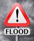 Inundación de alerta