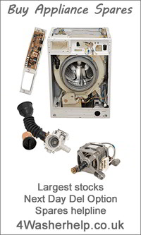 Hotpoint Washing Machine Spares genuine washing machine spare parts - white goods help and advice