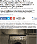 Appliance safety article