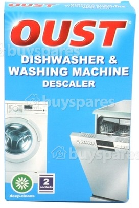 Clean washing machine or dishwasher