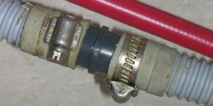 Drain hose extended