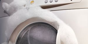 Foaming washing machine